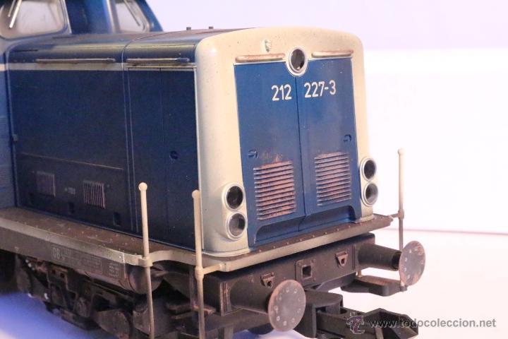 Trenes Escala: Marklin escala 1 1:32 ref 85573 Locomotora diesel BR 212 227-3 patinada origen, Nueva spur1 - Foto 18 - 48360573