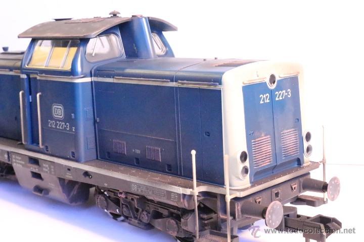 Trenes Escala: Marklin escala 1 1:32 ref 85573 Locomotora diesel BR 212 227-3 patinada origen, Nueva spur1 - Foto 23 - 48360573