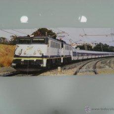 Trenes Escala: POSTER, TRENES, HOBBYTREN, 269-402/269-405 TALGO CAMAS, ANTONIO MACHADO 60 X 21. Lote 48804693