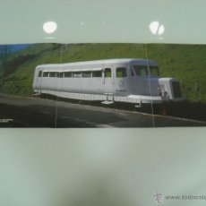 Trenes Escala: POSTER, TRENES, HOBBYTREN, AUTOMOTOR MICHELIN, EN AZPEITIA 60 X 21. Lote 48804720