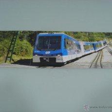 Trenes Escala: POSTER, TRENES, HOBBYTREN, CREMALLERA DE NURIA 60 X 21. Lote 48804743