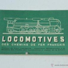 Trenes Escala: CATÁLOGO DE LOCOMOTORAS DES CHEMINS DE FER FRANCAIS. N.3. OCTUBRE 1951. TREN, FERROCARRIL, MOTORES A. Lote 49022852