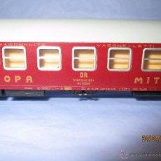 Trenes Escala: ANTIGUO COCHE CAMA CIWL MITROPA DE LA DR EN ESCALA TT 1/120. Lote 49062210