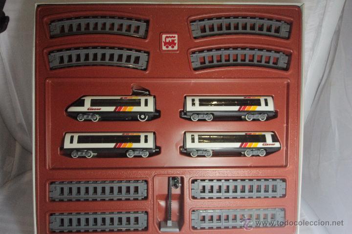 TREN DE ALTA VELOCIDAD ,CONDOR PEQUETREN SUPER CIRCUITO 100X251CM -REF1000- A (Juguetes - Trenes - Varios)