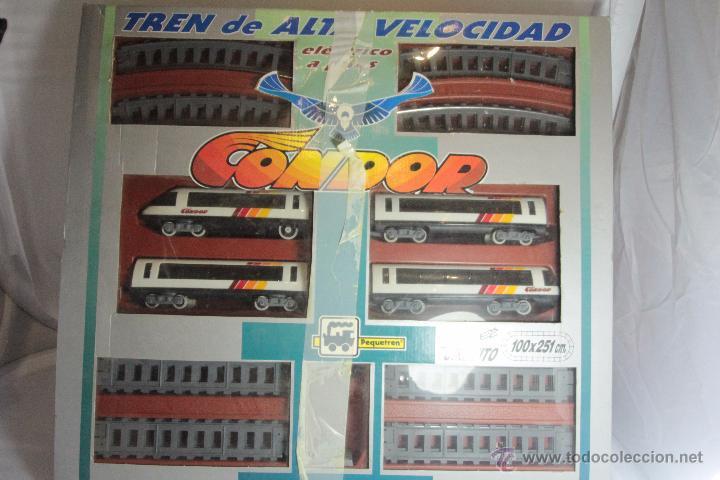 Trenes Escala: TREN DE ALTA VELOCIDAD ,CONDOR PEQUETREN SUPER CIRCUITO 100X251CM -ref1000- A - Foto 2 - 49083317