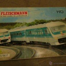 Trenes Escala: CATALOGO TREN FLEISCHMANN HO 1995-96. Lote 49783296