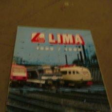 Trenes Escala: CATALOGO TREN LIMA HO 1995-96. Lote 49783319