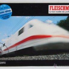 Trenes Escala: CATÁLOGO EN FRANCÉS DE MAQUETAS DE TRENES FLEISCHMANN. 1999 / 2000 - HO - 195 PÁGINAS. Lote 51596659