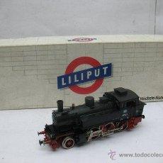 Trenes Escala: LILIPUT REF: 9114 - LOCOMOTORA DE VAPOR DE LA DB 91 1323 DE CORRIENTE CONTINUA - ESCALA H0. Lote 51702624
