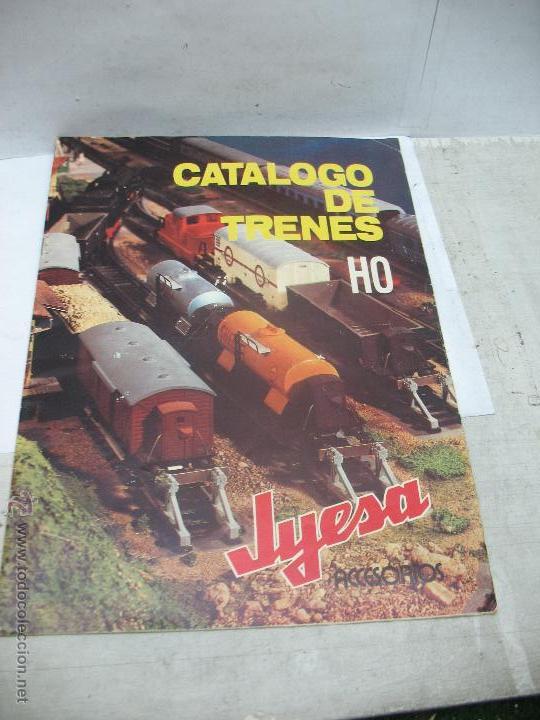 JYESA - ANTIGUO CATÁLOGO DE TRENES JYESA - ESCALA H0 (Juguetes - Trenes - Varios)