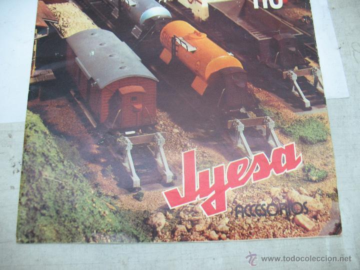 Trenes Escala: Jyesa - Antiguo catálogo de trenes Jyesa - Escala H0 - Foto 3 - 52833125