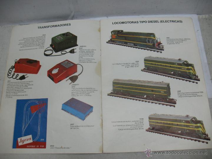 Trenes Escala: Jyesa - Antiguo catálogo de trenes Jyesa - Escala H0 - Foto 4 - 52833125