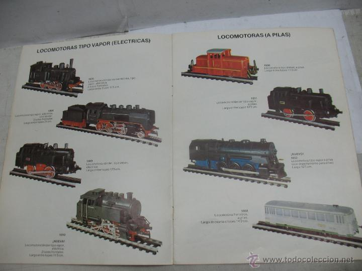 Trenes Escala: Jyesa - Antiguo catálogo de trenes Jyesa - Escala H0 - Foto 5 - 52833125