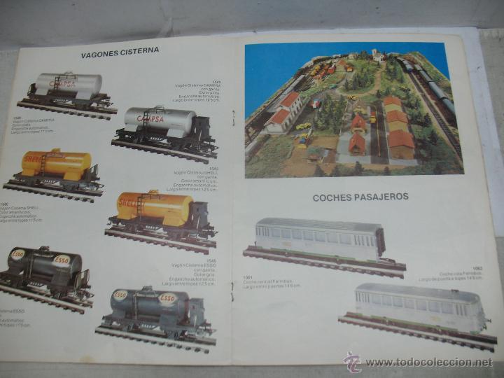 Trenes Escala: Jyesa - Antiguo catálogo de trenes Jyesa - Escala H0 - Foto 7 - 52833125