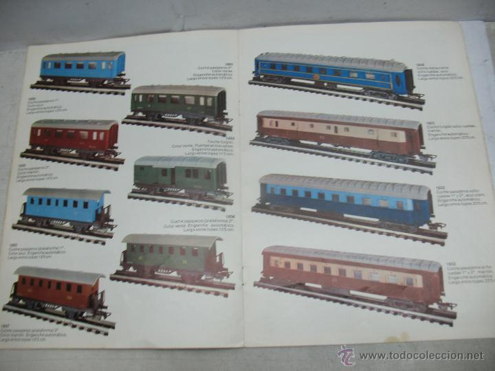 Trenes Escala: Jyesa - Antiguo catálogo de trenes Jyesa - Escala H0 - Foto 8 - 52833125