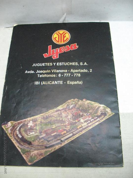 Trenes Escala: Jyesa - Antiguo catálogo de trenes Jyesa - Escala H0 - Foto 11 - 52833125
