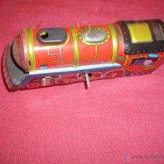 Trenes Escala: LOCOMOTORA DE METAL A CUERDA. Lote 53033680