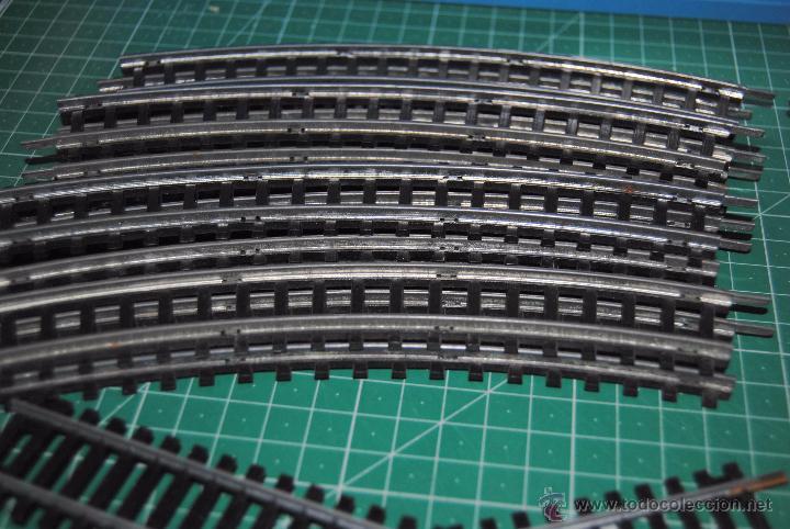 Trenes Escala: CURIOSO LOTE DE ANTIGUAS VIAS CURVAS HO JEYSA. LEER DESCRIPCIÓN DEL CONTENIDO, - Foto 2 - 53089526