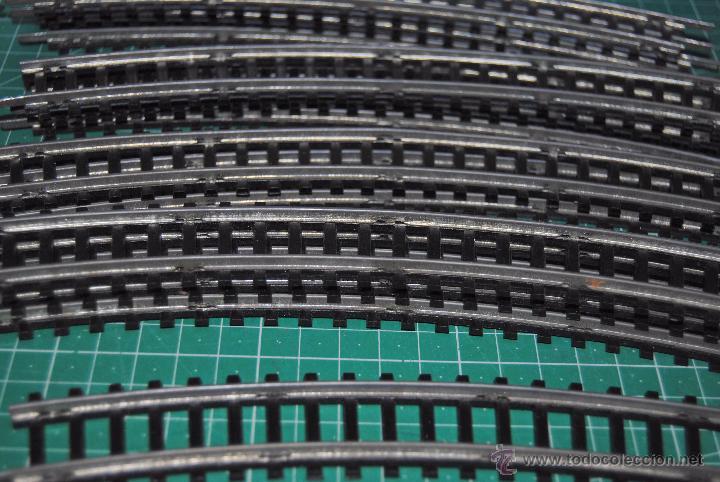 Trenes Escala: CURIOSO LOTE DE ANTIGUAS VIAS CURVAS HO JEYSA. LEER DESCRIPCIÓN DEL CONTENIDO, - Foto 3 - 53089526