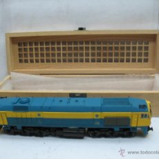 Trenes Escala: MEHANO - LOCOMOTORA DIESEL RENFE DE RESINA ARTESANAL - ESCALA H0. Lote 53431099