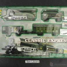 Trenes Escala: PASSENGER LOCOMOTIVE CLASSIC EXPRESS FONCCIONA CON PILAS LOGITOYS GOLDLOK TOYS MANUFACTORY J39*. Lote 54462940