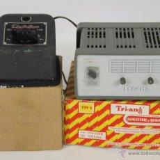 Trenes Escala: PAREJA DE TRANSFORMADORES PARA TRENES. ELECTRO TREN Y TRI.ANG. SIGLO XX.. Lote 51733120