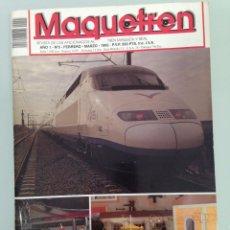 Trenes Escala: MAQUETREN-3, 1992: ALTA VELOCIDAD EN ESPAÑA, DIESEL 1.800 RENFE (I) ,NOCIONES DE MODELISMO (Y III). Lote 55322074
