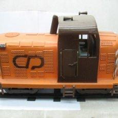 Trenes Escala: LOCOMOTORA DIESEL 1432 CP PORTUGUESA DE GRAN TAMAÑO ARTESANAL DE MADERA PORTUGAL. Lote 55866140