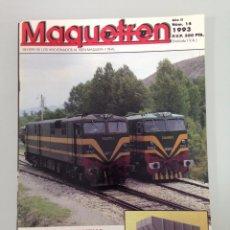 Trenes Escala: MAQUETREN 14,CONSTRUCCIÓN TOLVAS 2 EJES HO,CONSTRUCCIÓN MAQUETA HO, TALGO 200, . Lote 55896828
