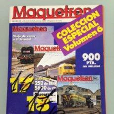 Trenes Escala: MAQUETREN 16-17-18, EL ULTIMO PITUFO,LOS VIAJES DE LA GARRAFETA, 252 Y 5600, COCHERÓN, . Lote 55897079