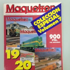 Trenes Escala: MAQUETREN 19-20-21, VAPOR EN PORTUGAL, LAS ALCO IBERICAS, NIEVE EN CANFRANC, EL LANGREO. Lote 55898532