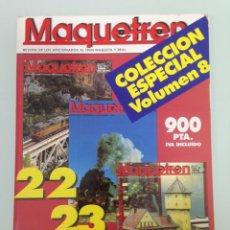 Trenes Escala: MAQUETREN 22-23-24,A TRAVÉS DE GALICIA,NUREMBERG 94,DESPEDIDA DE LAS INGLESAS 7700, MASSARELOSE. Lote 55905256
