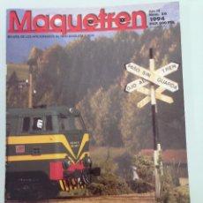 Trenes Escala: MAQUETREN 26, OTRO ADIOS, LAS 307 RENFE-EUROFIMA, . Lote 55905412