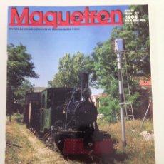Trenes Escala: MAQUETREN 27, MATARO, COCHES 5.000 HO, AQUELLOS VIEJOS OMNIBUS-II, . Lote 55905534