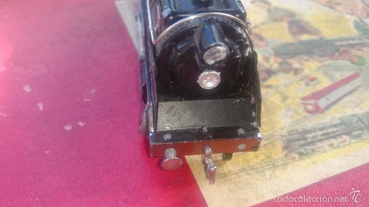 Trenes Escala: Paya locomotora y vagones coche butacas despice con caja original etiqueta ESCALA S - Foto 10 - 56997120