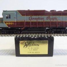 Trenes Escala: BACHMANN SPECTRUM H0 82019 - LOCOMOTORA DIESEL CANADIAN PACÍFIC - CAJA ORIGINAL. Lote 56093765