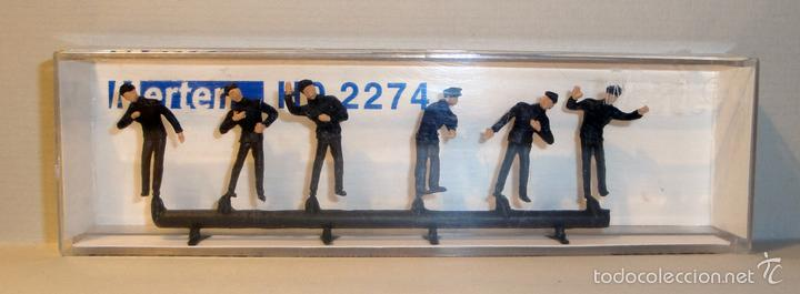 FIGURAS MERTER. PERSONAL FERROVIARIO. REF. 2274 (Juguetes - Trenes Escala H0 - Otros Trenes Escala H0)