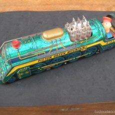 Trenes Escala: LOCOMOTORA MÁQUINA DE TREN MODERM TOYS JAPÓN. Lote 57120029