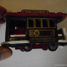 Trenes Escala: TRANVIA SAN FRANCISCO MUNICIPAL POWELL &HYDE - MADERA. Lote 57385774