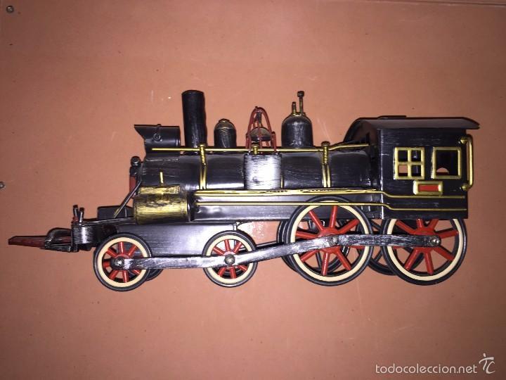 Trenes Escala: LOCOMOTORA DE TREN DECORATIVA - ADORNO - Foto 4 - 57484313