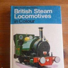 Trenes Escala: BRITISH STEAM LOCOMOTIVES O.S. NOCK. BLANFORD. 1976 190 PP. Lote 57646832