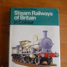 Trenes Escala: STEAM RAILWAYS OF BRITAIN. O.S. NOCK. BLANDFORD. 1975 196PP. Lote 57651072