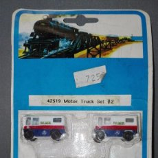 Trenes Escala: 918- MOTOR TRUCK SET 2- REF 42519-- BACHMANN -- OLD STOCK/NEW. Lote 132630657