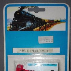 Trenes Escala: 918- TRUCK SET 1- REF 42511-- BACHMANN -- OLD STOCK/NEW. Lote 132630681