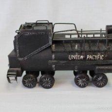 Trenes Escala: LOCOMOTORA UNION PACIFIC MAQUETA A VAPOR, DE FORJA, A ESCALA, . Lote 57925548