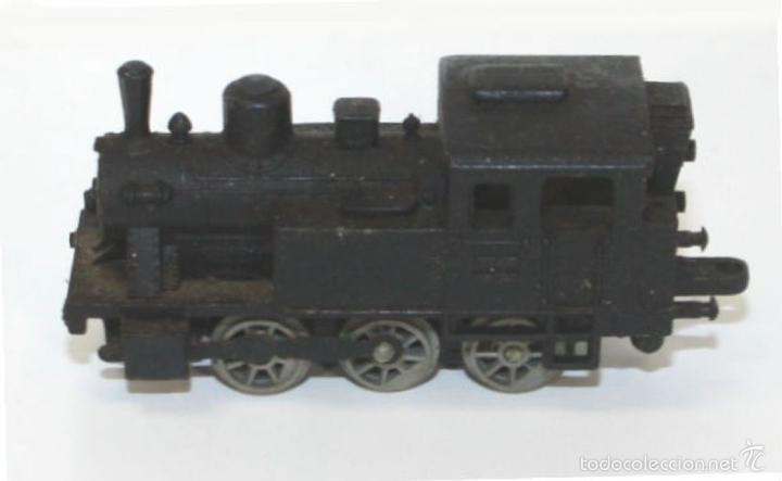 Trenes Escala: COLECCIÓN DE LOCOMOTORA CON 8 VAGONES DE CARGA. RAIL ROUTE. 1/143. FRANCIA. - Foto 2 - 58012346