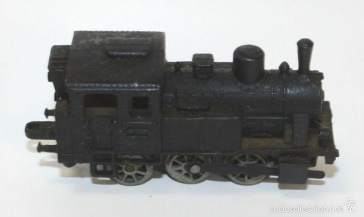 Trenes Escala: COLECCIÓN DE LOCOMOTORA CON 8 VAGONES DE CARGA. RAIL ROUTE. 1/143. FRANCIA. - Foto 3 - 58012346