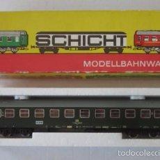 Trenes Escala: VAGON DE TREN MARCA SCHICHT - ESCALA H0. Lote 58014383