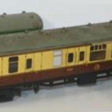 Trenes Escala: LOTE DE 3 VAGONES EN RESINA. MECCANO LTD. MADE IN ENGLAND.CIRCA 1950.. Lote 58123145