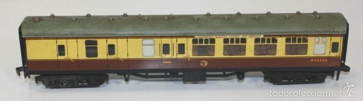 Trenes Escala: LOTE DE 3 VAGONES EN RESINA. MECCANO LTD. MADE IN ENGLAND.CIRCA 1950. - Foto 2 - 58123145